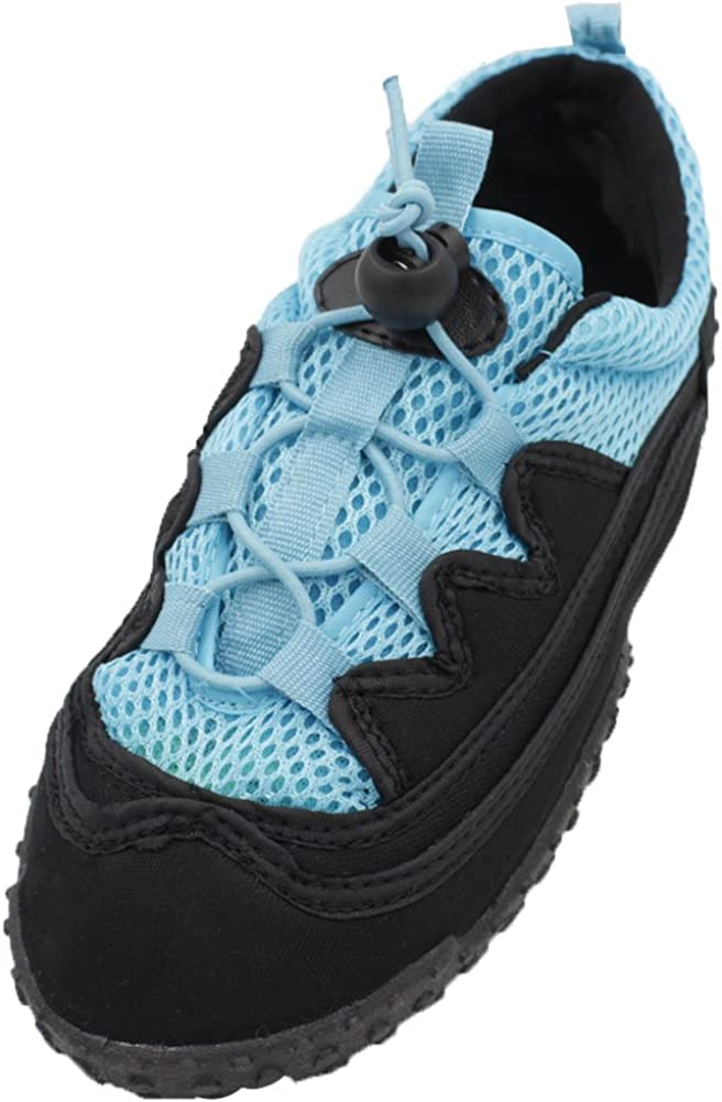 Toddler//Little Kid//Big Kid Easy USA Kids Athletic Water Shoes