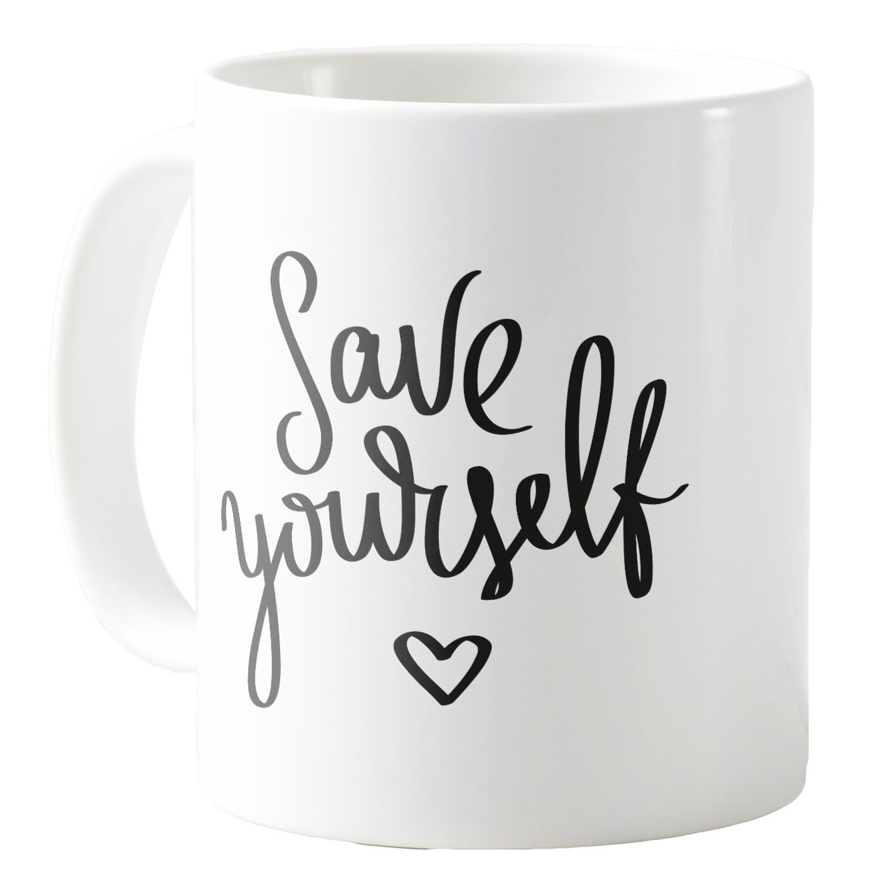 Save Yourself 11oz Ceramic Coffee Mug Tea Cup AquaSakura