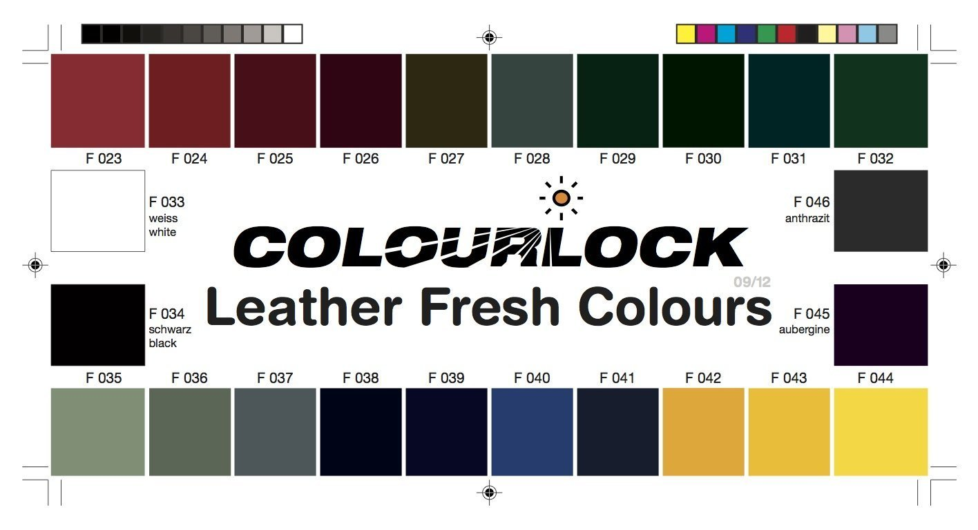 Amazon colourlock colour chart for choosing the correct amazon colourlock colour chart for choosing the correct leather colors fillers beauty nvjuhfo Gallery