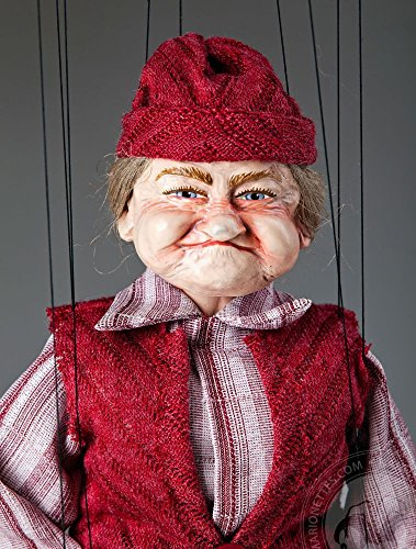 Old Lady Fanny by Czech Marionettes by CzechMarionettes