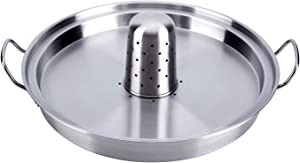 WEQUALITY Beer Can Chicken Roaster,Stainless Steel Vertical Roasting Pan for Chicken&Turkey, Beer Can Chicken Holder,Fast Roasting Chicken Cooker,Use in Oven or on Outdoor Grill