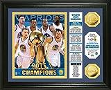 NBA Golden State Warriors 2015 Finals Champions ''Banner'' Photo Mint Gold Coin, 22'' x 15'' x 4''