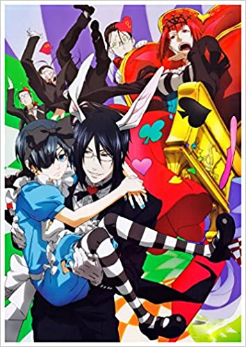 Calendrier Manga 2020.Anime Calendrier Mural 2020 12 Pages 20x30cm Black Butler