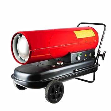 Calentador QFFL Combustible Estufa eléctrica Industrial de cría Estufa eléctrica de Alta Potencia Rojo Tamaño Opcional Enfriamiento y calefacción (Tamaño ...