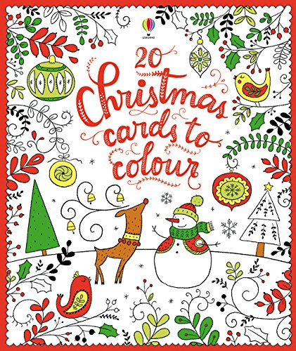 20 Christmas Cards to Colour]()