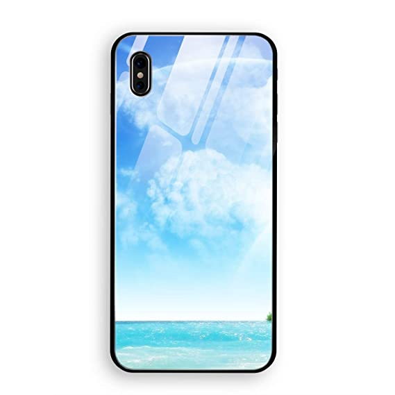 competitive price 7d272 71390 Amazon.com: iPhone X Case, Shockproof Earth Dreamy World Phone ...