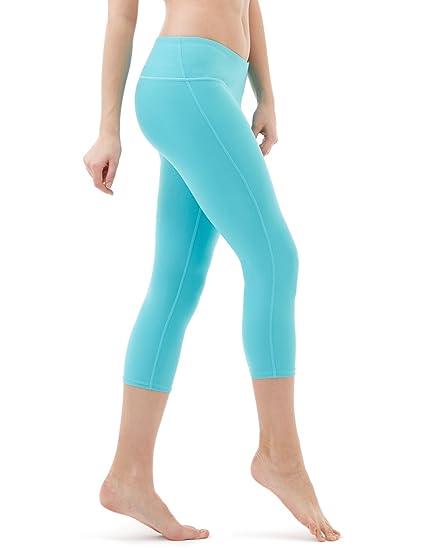 20d1930e96fed9 Amazon.com : TSLA Yoga Pants Mid & High-Waist Tummy Control w Hidden ...