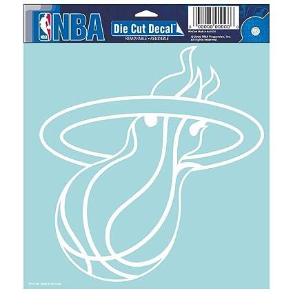 e988ab00bd3 Amazon.com   NBA Miami Heat Die-cut Decal