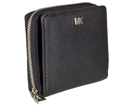 2c433bc8b833 Michael Kors Money Pieces za snap Wallet 32F8SF6Z0L 001 Nero: Amazon.co.uk:  Clothing