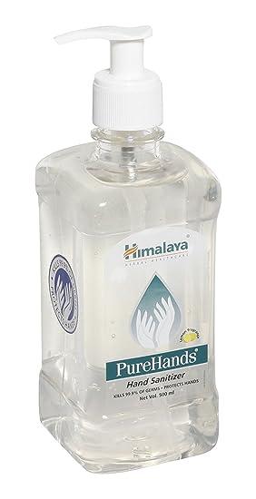 cebcf445baa2 Himalaya PureHands Désinfectant pour les mains - 500 ml  Amazon.fr ...
