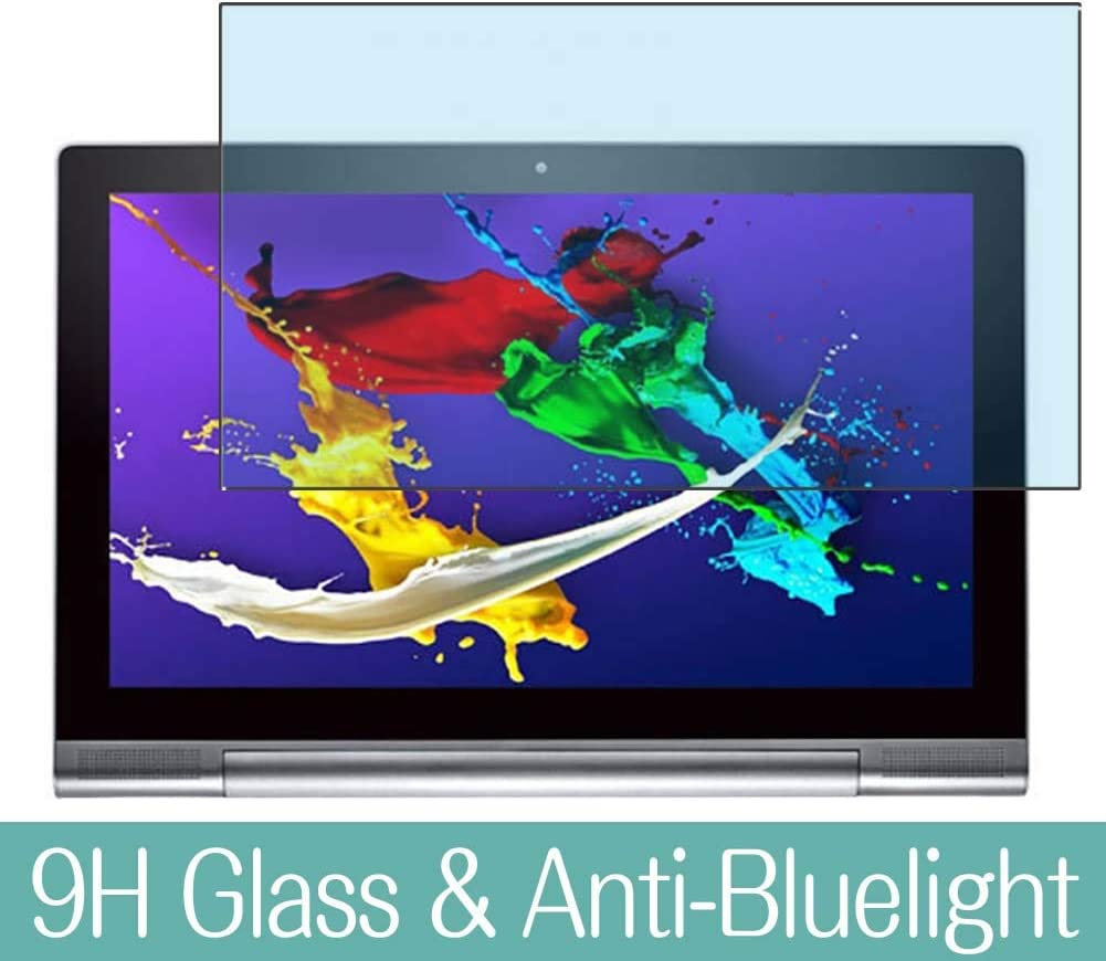 """Synvy Anti Blue Light Tempered Glass Screen Protector for Lenovo Yoga Tablet 2 Pro 1380F 13.3"""" Visible Area 9H Protective Screen Film Protectors"""