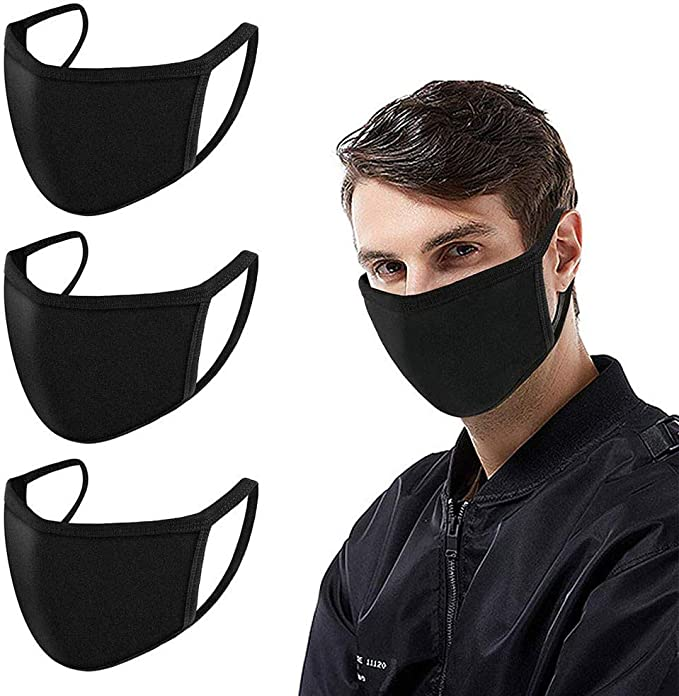 4. Fashion Mask Washable Reusable Cover – Double Layer Cover for Dust Particles
