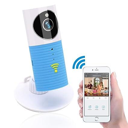 Clever Dog Cámaras de seguridad inalámbricas Wifi / Smart Monitor / cámara de seguridad de vigilancia con P2P, ...