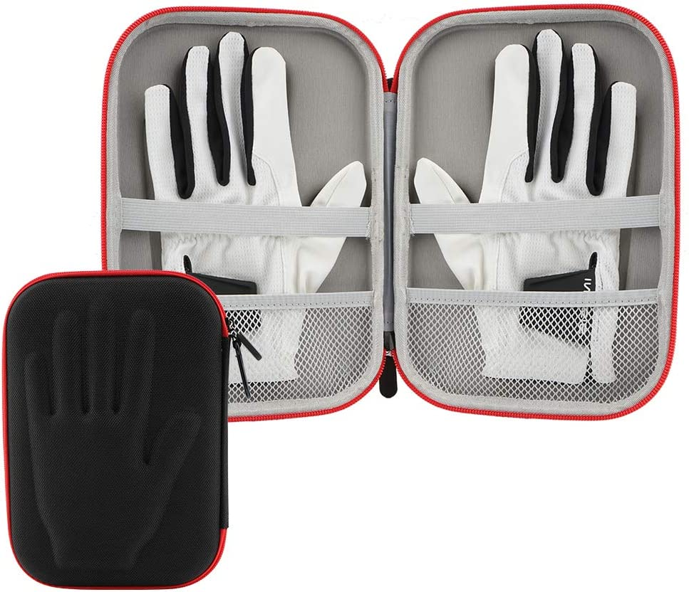 Brappo- Golf Performance Gloves Holder Case - Protect and Keep Golf Gloves Dry - Moisture Free Storage Design - Can Store 2 Pairs of Gloves
