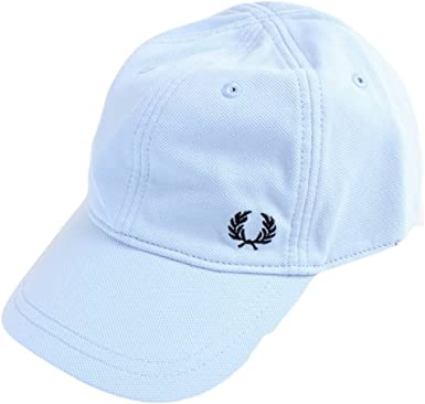 Fred Perry Gorras Pique Classic Sky Blue Adjustable: Amazon.es ...