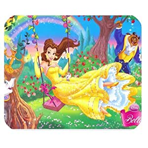 Beauty And Beast Customized Standard Rectangle Mouse Pad Mat ( Black )