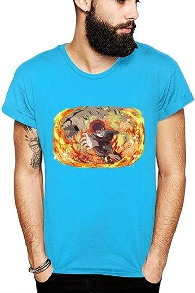 TSHIMEN Camisetas Hombre y Mujer Iguales Naruto Anime ...