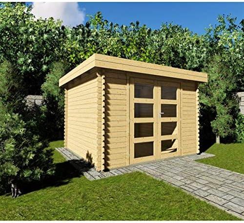 AL Wood Ltd - Cobertizo de jardín (3 x 2, 4 x 28 mm): Amazon.es: Jardín