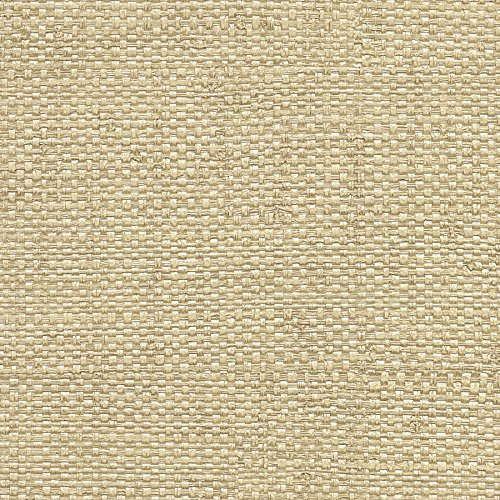 Warner 2758-8046 Caviar Neutral Basketweave Wallpaper,