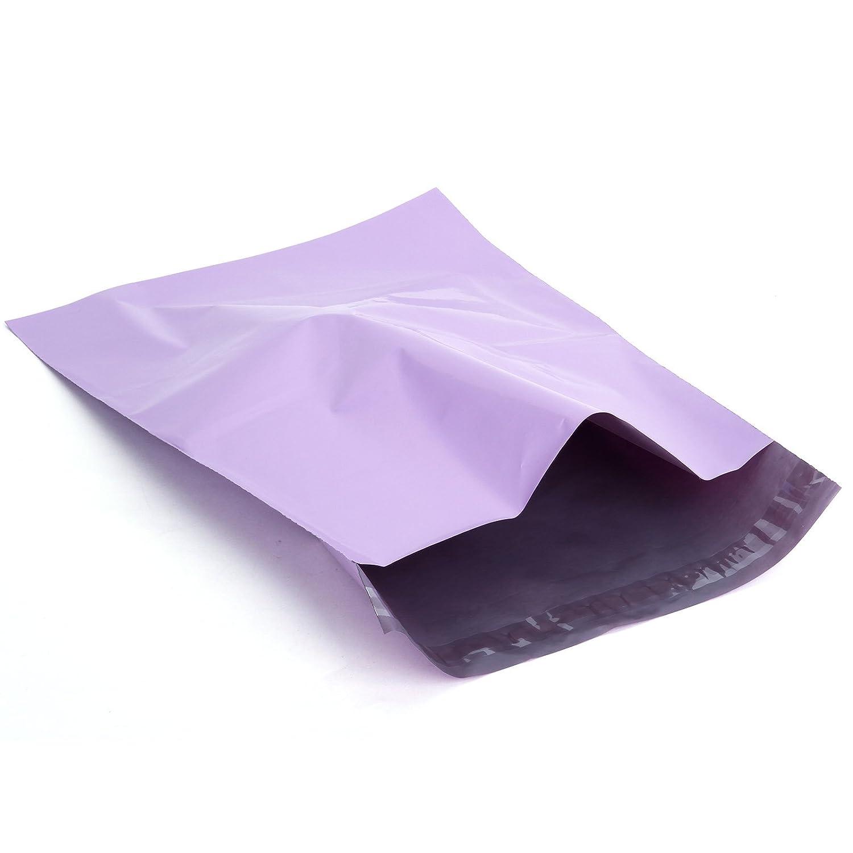 50st Versandtaschen Versandbeutel Versandtueten blickdicht lila 255X355MM