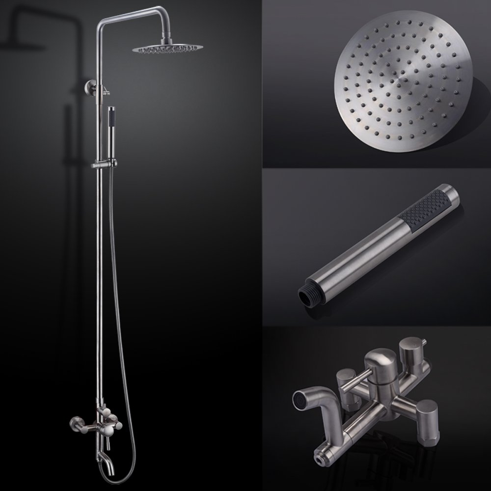 KES X6650B Bathroom SUS304 Stainless Steel Faucet Showering System ...