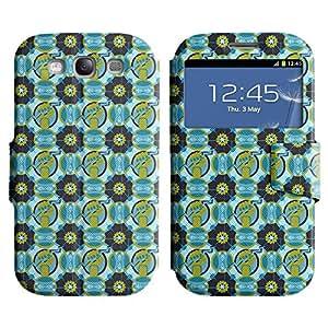 LEOCASE patrón increíble Funda Carcasa Cuero Tapa Case Para Samsung Galaxy S3 I9300 No.1003367