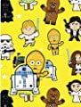 Star Wars Hallmark Gift Wrap 2 Sheets 2 Tags