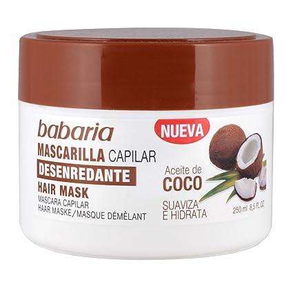 Babaria Aceite de Coco Mascarilla Desenredante - 250 ml