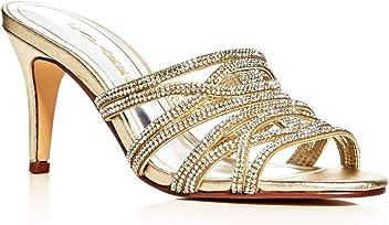 97209bce0 Caparros Womens Impulse Slide Open Toe Special Occasion Slide Sandals