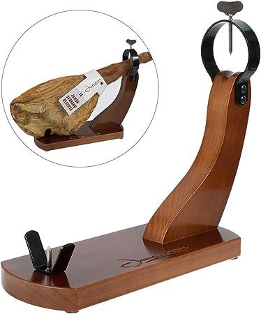 El jamonero Huelva es un jamonero fabricado en España con madera de pino insigne chileno de primera