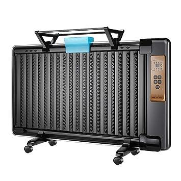 Radiador de aceite, termostato ajustable con calentador eléctrico portátil compacto de 2000 W, recordatorio de protección contra sobrecalentamiento, ...