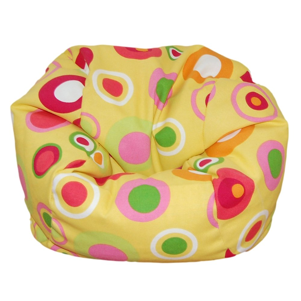 Ahh  Products Bubbly Citrus Bean Bag Chair for Dolls