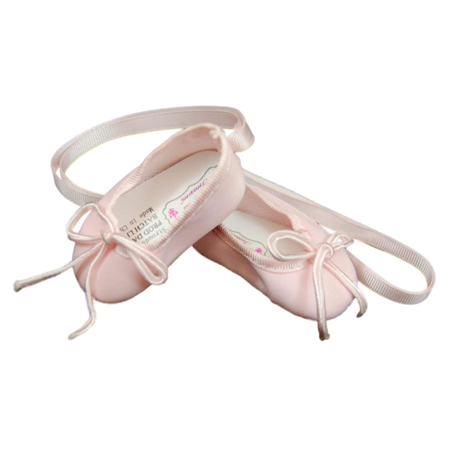 Clothing Accessories Fits American Girl Doll Clothes The Queens Treasures Pink Satin Ballet Slippers 18 Inch Ballerina Doll Shoes Complete with Authentic Shoe Box The Queen/'s Treasures AGSBLS
