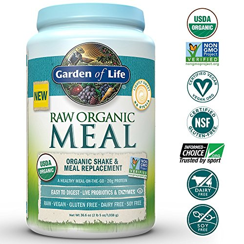 Garden Of Life Meal Replacement Organic Raw Plant Based
