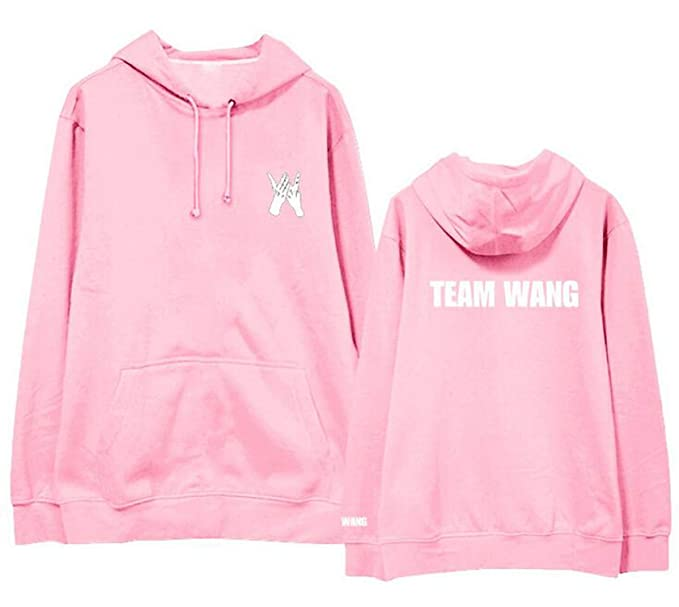 Kpop got7 Jackson Team Wang Same Printing Fleece/Thin Pullover Hoodies for i got7 Autumn Winter Unisex Sweatshirt at Amazon Womens Clothing store: