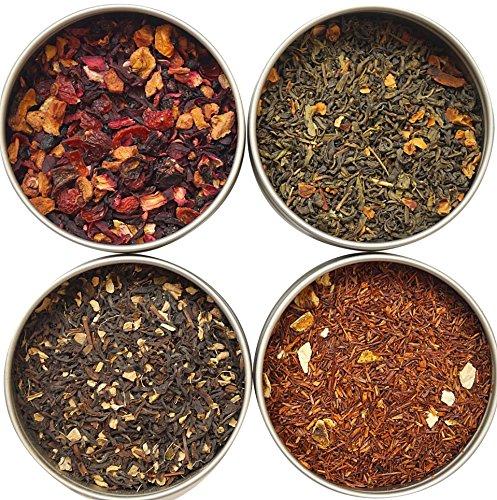 Heavenly Tea Leaves Flavored Tea Sampler, 4 Count