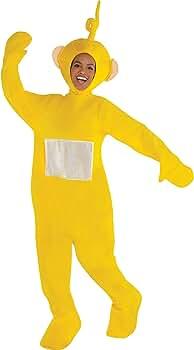 Costumes USA Disfraz de Laa Laa Laa de Teletubbies, tamaño ...