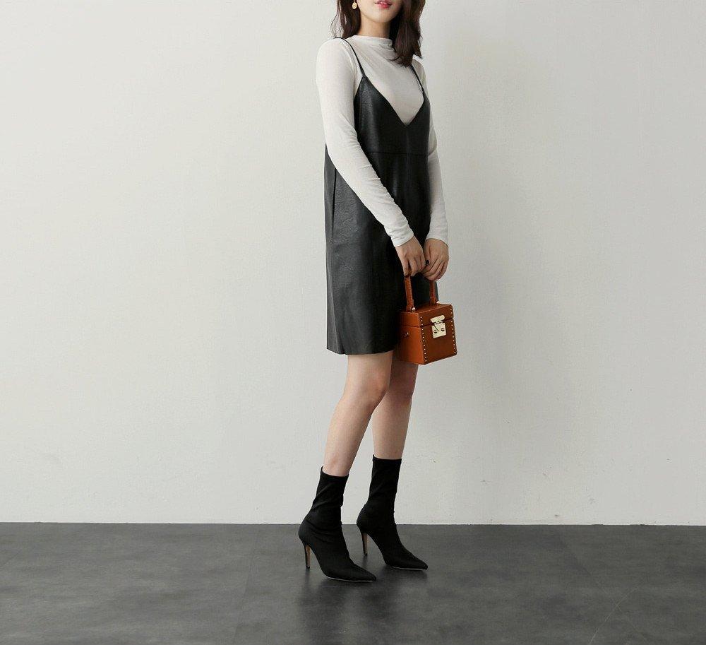 UP elegant autumn and winter high-end women's modern stiletto boots in tube socks for women girl