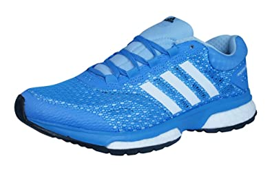 333df4553116 adidas Response Boost Womens Running Trainers   Shoes-Blue-4.5 ...