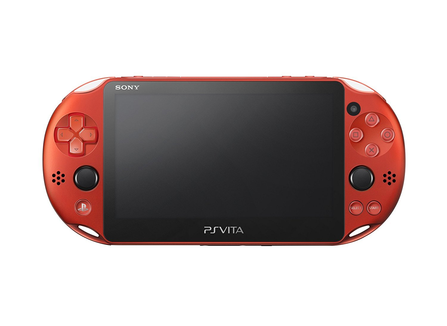 PlayStation Vita Wi-Fi Metallic Red PCH-2000ZA26 (Japan Import) by Sony (Image #2)