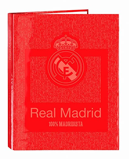 Archivador Real Madrid Coral 4 Anillas