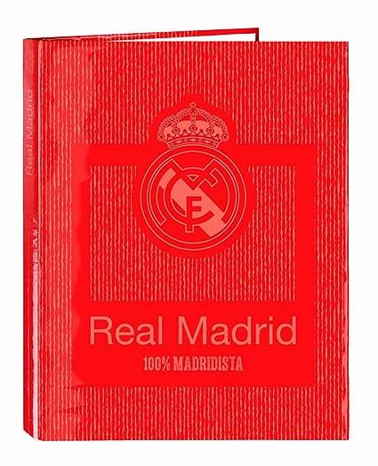 Archivador Real Madrid Coral 4 Anillas