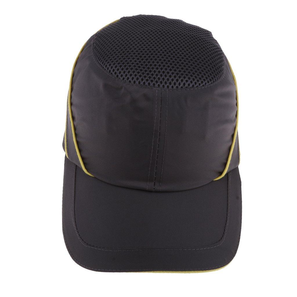 Flameer PE Bump Caps Safety Helmet Gray