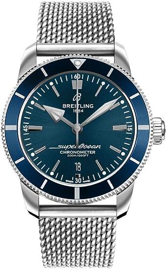Breitling Superocean Heritage Ii B20 Automatik 44 Blau Zifferblatt Herrenuhr Ab2030161c1a1 Amazon De Uhren