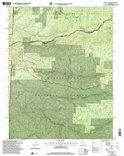 YellowMaps Garnet Hill CA topo map, 1:24000 Scale, 7.5 X 7.5 Minute, Historical, 2001, Updated 2004, 26.7 x 21.2 in - Paper]()