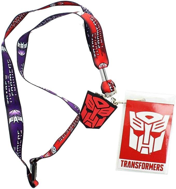 Bioworld TRANSFORMERS Autobots /& Decepticons Wristbands 2 Pairs