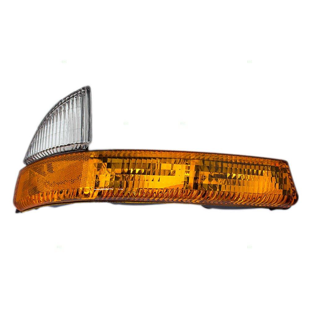 Passengers Park Signal Corner Marker Light Lamp Lens Replacement for Dodge Dakota Durango 5011410AA AutoAndArt