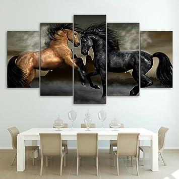 Elegant LwqArt Pferde Poster Und Drucke Moderne Landschaftsmalerei Bilder Wandkunst  Für Wohnzimmer, Home Decor Gallery