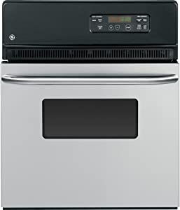 """GE 24"""" Stainless Steel Electric Single Wall Oven JRS06SKSS"""