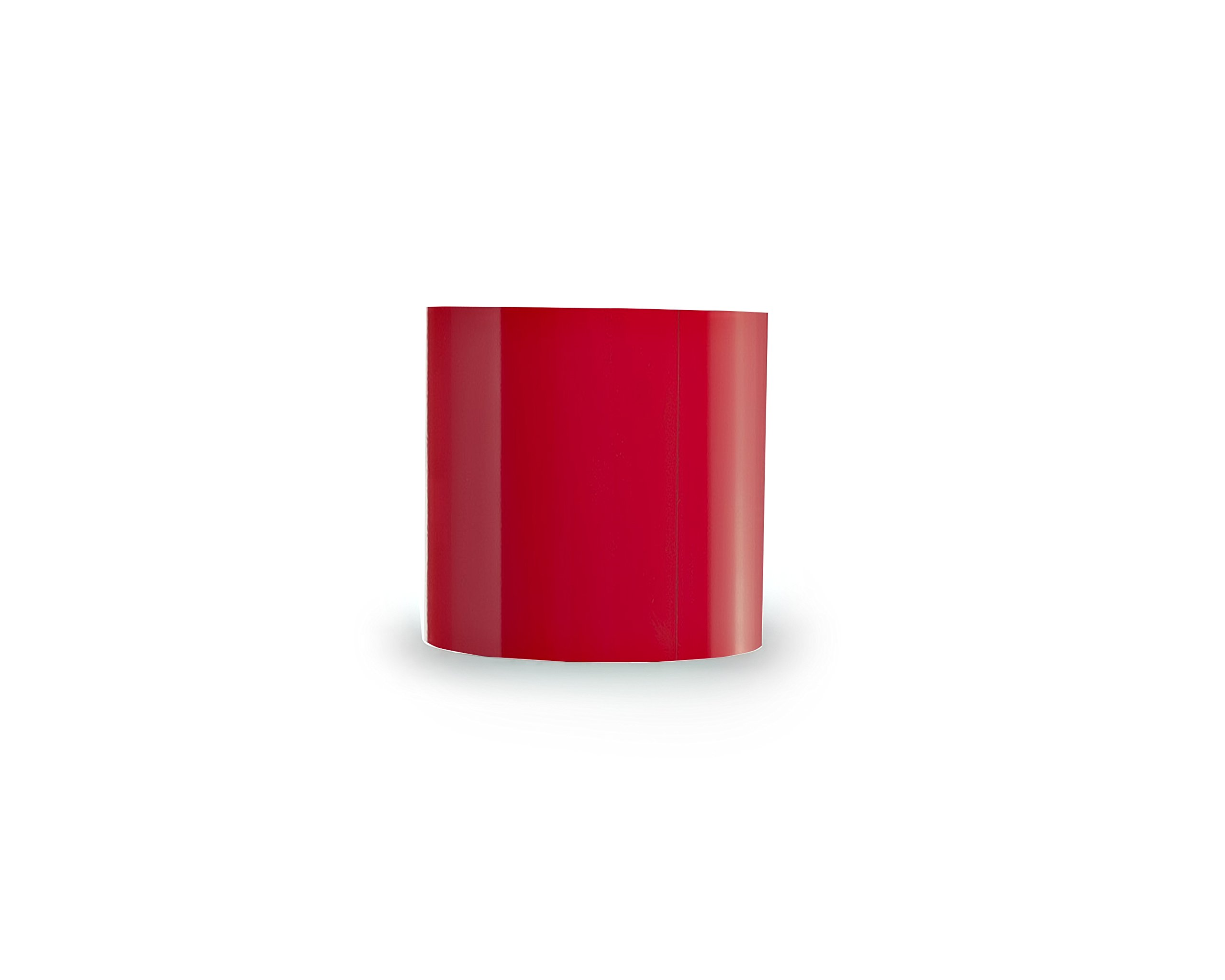 30 Mil Dry Erase Magnetic Strip Roll - Red - 4'' X 25' by Discount Magnet